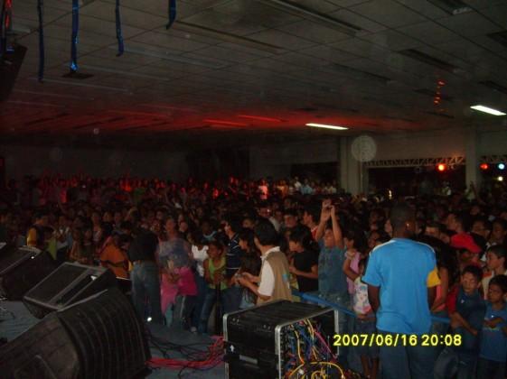 Todos gozando el concierto!